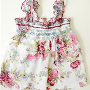 Baby girl size 12M summer floral dress